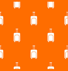 travel suitcase pattern seamless vector image