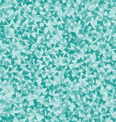Turquoise triangle abstract backdrop vector