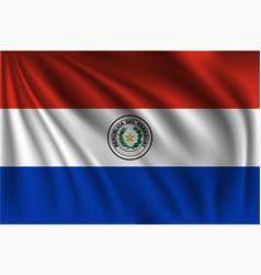 Waving paraguay vector