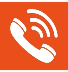 telephone service design vector image