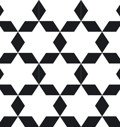 Seamless geometric black white pattern To see vector image