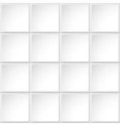 Tile white texture vector image vector image