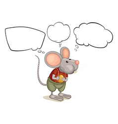 A rat with empty callouts vector