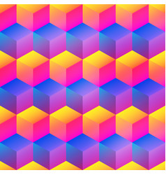 bright square pattern vector image
