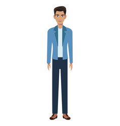 Character man member community vector