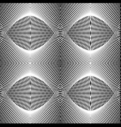 design seamless monochrome grid textured vector image
