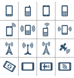 mobile devices and wireless vector image