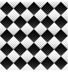 monochrome abstract geometrical square pattern vector image