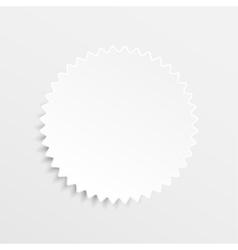 Paper Banner Design Mockup Star stars vector image