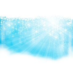 sparkling light vector image