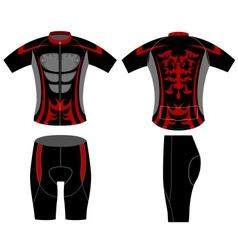 Sportswear fashion style vector