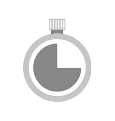 stopwatch timer second time concept vector image