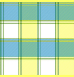 tablecloth check fabric texture seamless pattern vector image