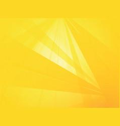 trendy yellow geometric background vector image