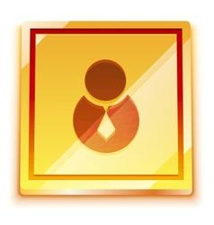 login button vector image vector image