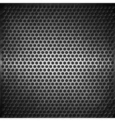 dotted metal background design vector image