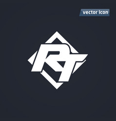 rt icon vector image vector image
