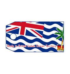 British indian ocean territory vector