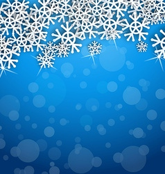Cool Snowflakes vector image