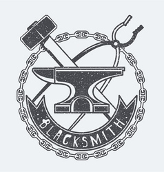 Blacksmith vector image