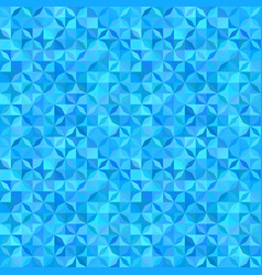 Blue abstract striped shape mosaic pattern vector