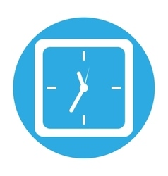 clock icon image vector image