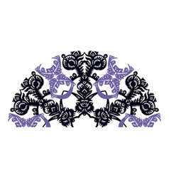 Decorative fan vector image