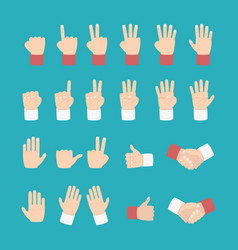 Hand expression with various style vector