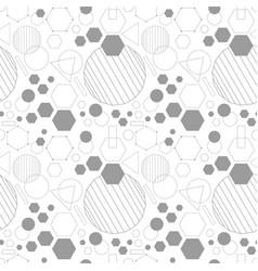line gray dense geometrical seamless pattern vector image