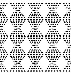 Rhombus chaotic seamless pattern 201 vector