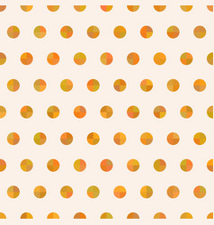 Seamless cute delicate simple pattern with circles vector