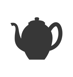 Tea kettle icon Tea design graphic vector