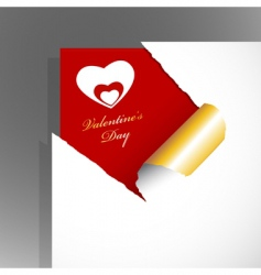 teared paper vector image