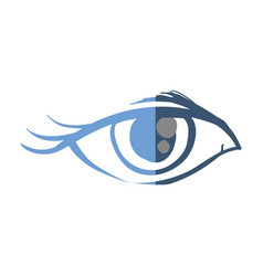 Woman eye sketch vector