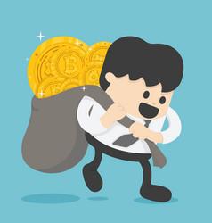 concept entrepreneurs succeeding in business vector image