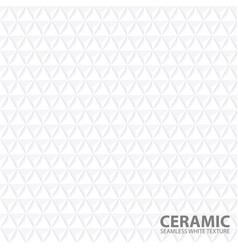 white geometric background - seamless vector image vector image
