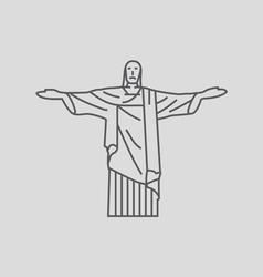 Christ The Redeemer vector
