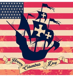 columbus day2 vector image