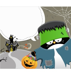 Halloween Frankenstein vector