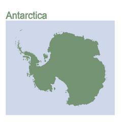Map continent antarcti vector