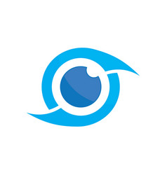 Photography eye logo image vector