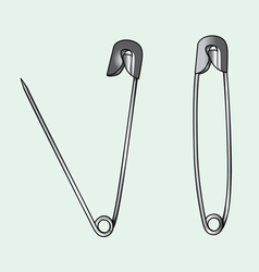Safety pin vector