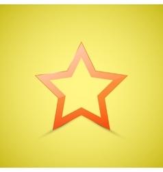 Star web icon vector