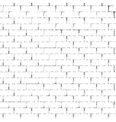 White brick wall silhouette vector