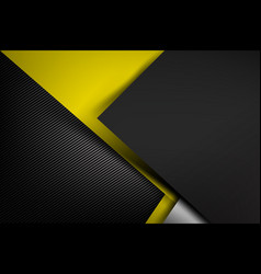abstract background dark with carbon fiber vector image