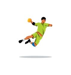 Handball sign vector