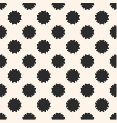 seamless texture abstract floral geometric pattern vector image