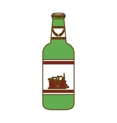 Bottle of beer icon design vector