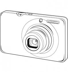 vector photo camera vector image vector image