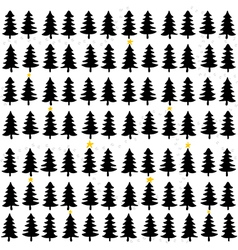 Chrsitmas tree pattern vector